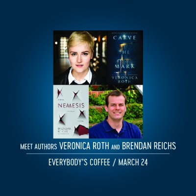Veronica Roth and Brendan Reichs Book Signing at Everybody's Coffee