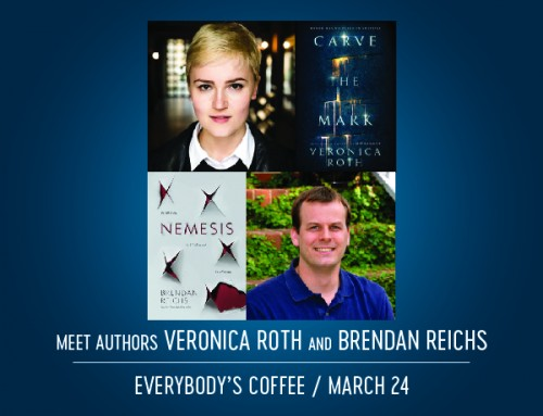 Authors Veronica Roth and Brendan Reichs Book Signing