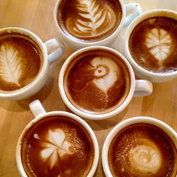 Latte Art at Everybody's Coffee