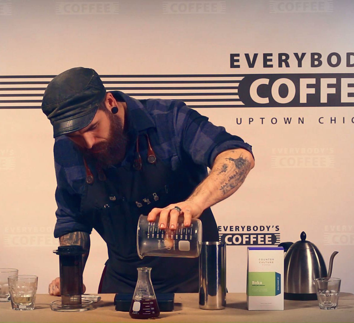 Joshua Dusk Video Dose Advanced Inverted Aeropress Cupping