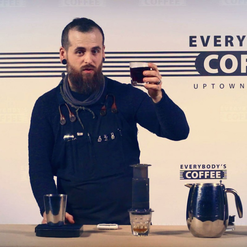 Joshua Dusk Video Dose Aeropress Siphon