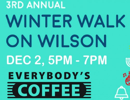 3rd Annual Winter Walk on Wilson