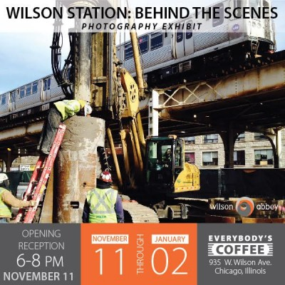 NEW ART SHOW: Wilson Station: Behind the Scenes