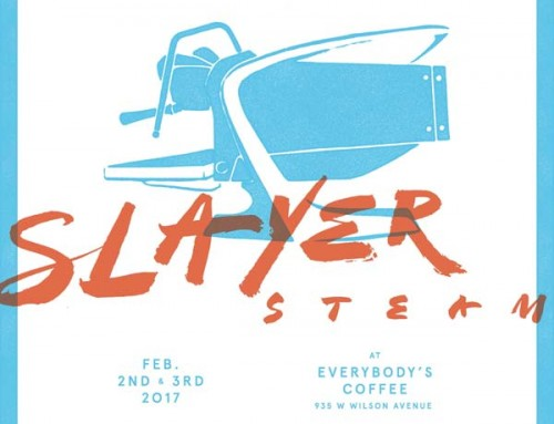 Chicago, Meet Slayer Steam Espresso Machine