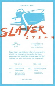 Chicago Meet Slayer Steam Event Poster
