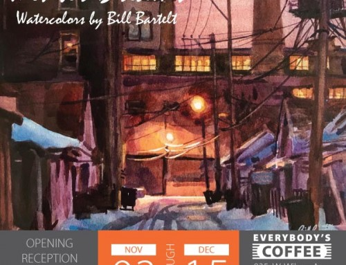 NEW ART SHOW: Watercolors by Bill Bartelt
